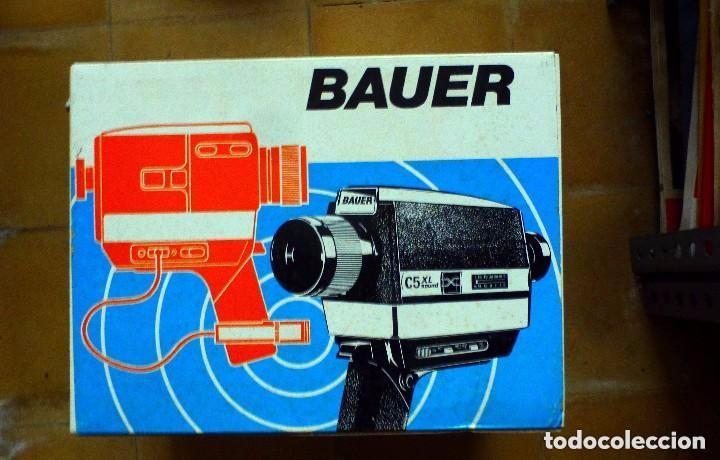 BAUER CAMARA SUPER 8 (Antigüedades - Técnicas - Aparatos de Cine Antiguo - Cámaras de Super 8 mm Antiguas)