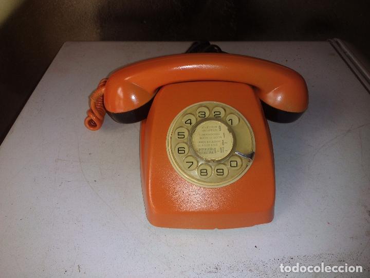 ANTIGUO TELÉFONO DE TELEFONICA (Antigüedades - Técnicas - Teléfonos Antiguos)