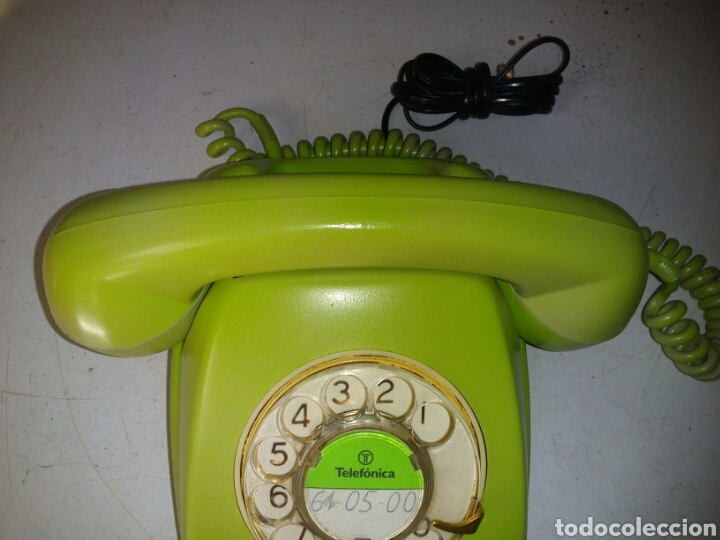 Teléfonos: Antiguo telefono de telefónica ,pintado - Foto 2 - 93874048