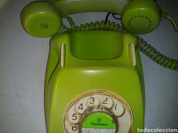 Teléfonos: Antiguo telefono de telefónica ,pintado - Foto 5 - 93874048