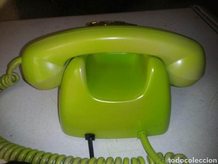 Teléfonos: Antiguo telefono de telefónica ,pintado - Foto 6 - 93874048