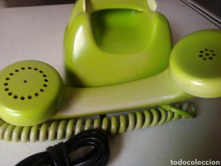Teléfonos: Antiguo telefono de telefónica ,pintado - Foto 10 - 93874048