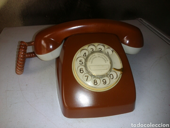 Teléfonos: Antiguo Teléfono de Telefónica,Pintado - Foto 2 - 93874148