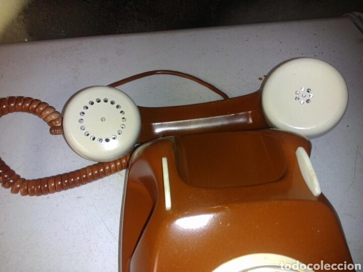 Teléfonos: Antiguo Teléfono de Telefónica,Pintado - Foto 4 - 93874148