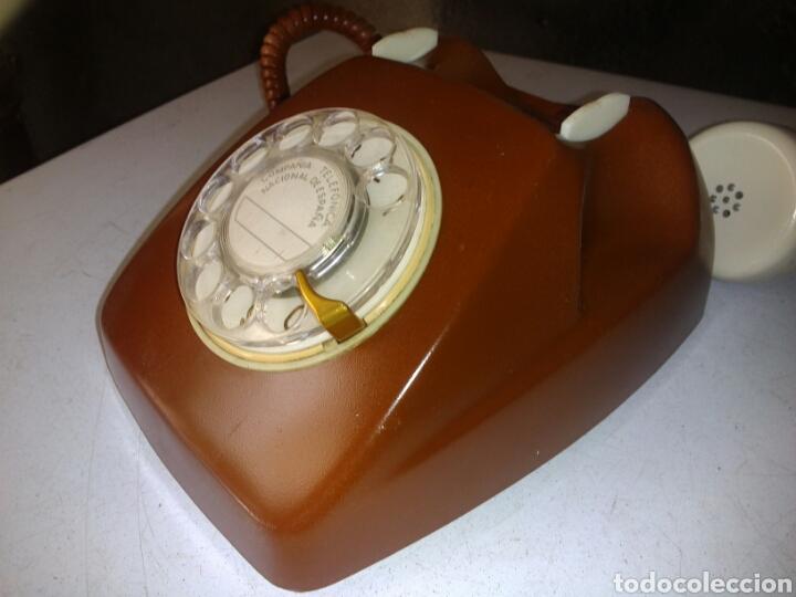 Teléfonos: Antiguo Teléfono de Telefónica,Pintado - Foto 7 - 93874148