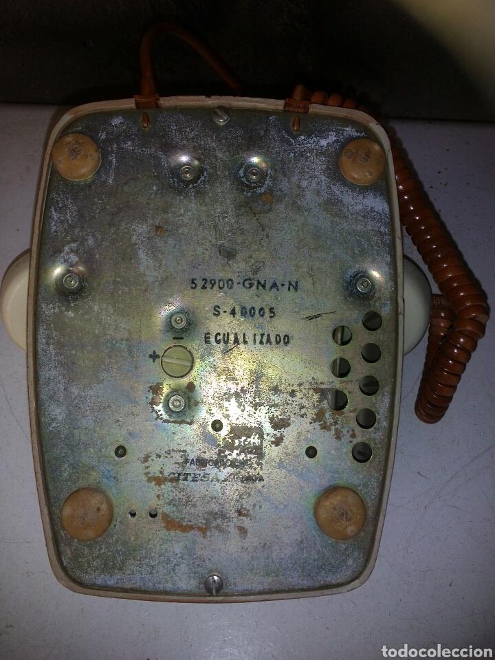 Teléfonos: Antiguo Teléfono de Telefónica,Pintado - Foto 12 - 93874148