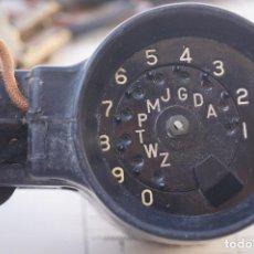 Teléfonos: HANDSET TS-365/CT. TELÉFONO MILITAR DE COMPROBACIÓN DE COMUNICACIONES. Lote 93933225