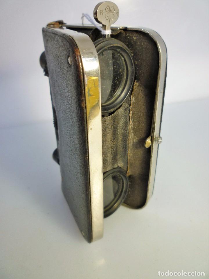 PRISMÁTICOS BINOCULARES DE ÓPERA TEATRO AÑOS 30 LA MODERNE DÉPOSÉ EN MUY BUEN ESTADO DE COLECCIÓN (Antigüedades - Técnicas - Instrumentos Ópticos - Binoculares Antiguos)