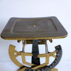 Antigüedades: PESO DE CARTAS BALANZA DE CARTERO BILATERAL PESACARTAS EN PERFECTO ESTADO. Lote 94020350