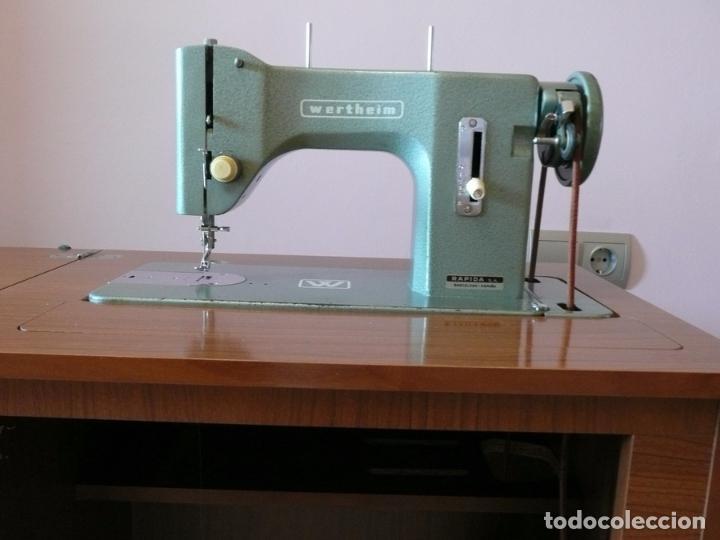máquina de coser wertheim br completa muy buen - Comprar