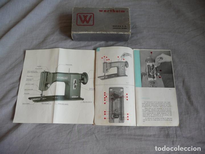 Antigüedades: MÁQUINA DE COSER WERTHEIM BR COMPLETA MUY BUEN ESTADO - Foto 14 - 94067845