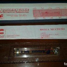 Antigüedades: REGLA MULTIUSOS FUJICA ROLLER RULER SR-01 MULTIPURPOSE RULER. Lote 94120115