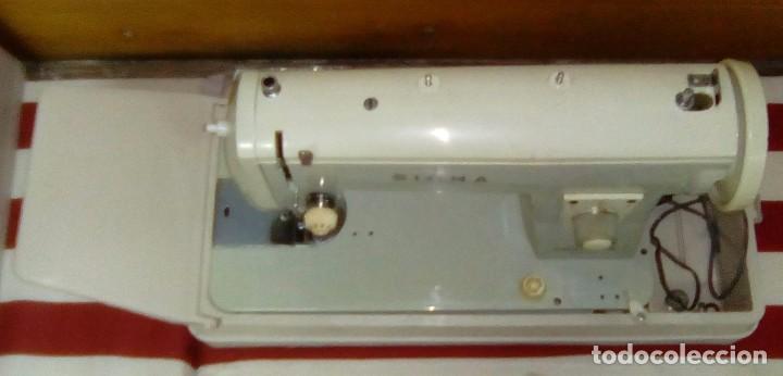 Antigüedades: MAQUINA DE COSER SIGMA-ESTARTA Y ECENARRO-Modelo P-Años 60 - Foto 3 - 94151895