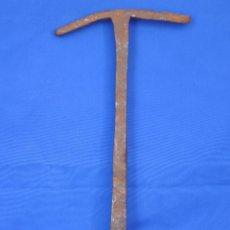 Antigüedades: GANCHO DE FORJA TIPO ANCLA.. Lote 94158015