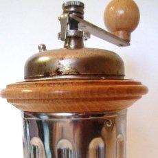 Antigüedades: MOLINILLO DE CAFÉ CILÍNDRICO. SIN MARCA. CA. 1950/1960. Lote 94170075