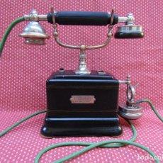 Teléfonos: ANTIGUO TELEFONO DE SOBREMESA DE LA MARCA ERICSSON, AÑO 1922.. Lote 94361378