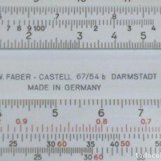 Antigüedades: REGLA DE CALCULO FABBER-CASTELL 67/54. Lote 94484802