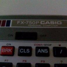 Antigüedades: CASIO FX-750P. Lote 94493242