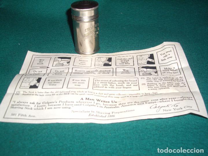 Antigüedades: COLGATE - LATA PARA BARRA DE JABON DE AFEITAR - Foto 6 - 94539219
