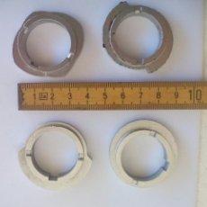 Antigüedades: 4 DISCOS PARA BORDAR DE MAQUINA COSER SIGMA SUPERAUTOMÁTICA S. SEWING MACHINE STITCH CAM DISCS.LEVAS. Lote 203722267