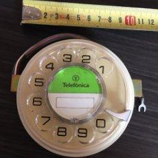 Teléfonos: DISCO DIAL PARA TELÉFONO ANTIGUO HERALDO TELEFÓNICA. Lote 159339397