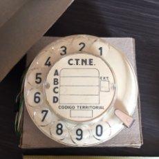 Teléfonos: DISCO DIAL PARA TELÉFONO ANTIGUO HERALDO. Lote 94629220