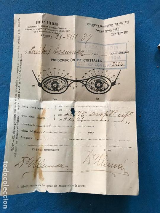 Antigüedades: Antiguas gafas años 30 - Ver fotos - Foto 4 - 94813555