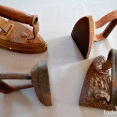 Antigüedades: CUATRO PLANCHAS . Lote 94952303