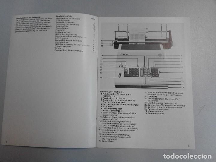Antigüedades: INTRUCCIONES DE USO DE SALDADORA DE CARRO OLYMPIA - Foto 3 - 94991051