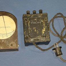 Antigüedades: ANTIGUO LOTE DE 2 APARATOS ELECTRICOS. Lote 95011676