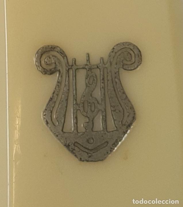 Antigüedades: NAVAJA DE AFEITAR. ACERO DE DOBLE TEMPLE. JOSE MONTSERRAT POU. ESPAÑA. SIGLO XX. - Foto 9 - 95043283
