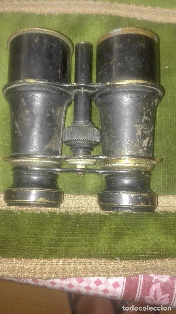 Antigüedades: binoculares antiguos - Foto 2 - 95049791