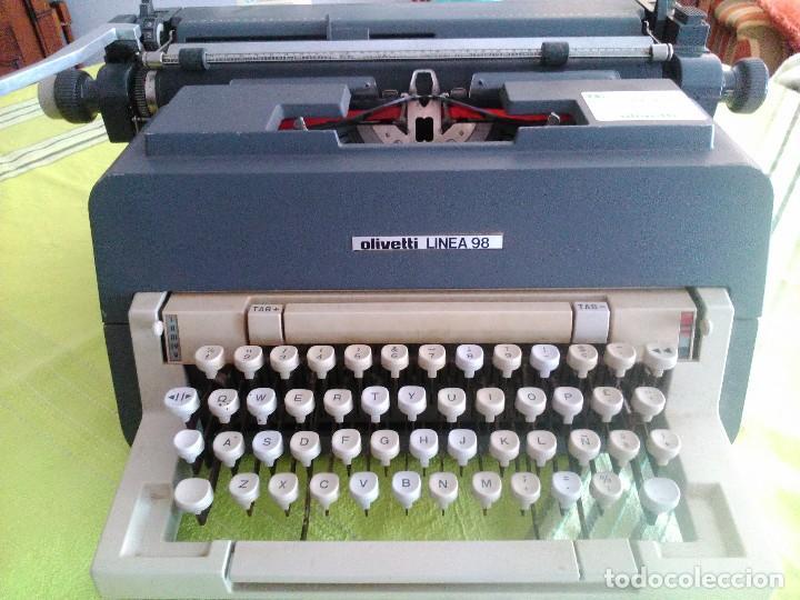 OLIVETI 98 (Antigüedades - Técnicas - Máquinas de Escribir Antiguas - Olivetti)