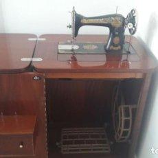 Antigüedades: MAQUINA DE COSER SINGER. Lote 95123499
