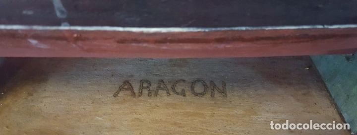 Antigüedades: MAQUETA DE BARCO VAPOR ARAGON. MADERA Y METAL. ESPAÑA. PRINCIPIOS SIGLO XX. - Foto 11 - 95208095