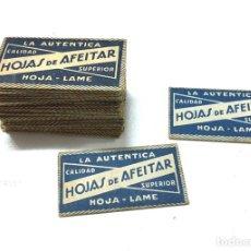 Antigüedades: CUCHILLAS DE AFEITAR. Lote 95331255