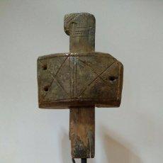 Antigüedades: CERRADURA ANTIGUA AFRICANA DE MADERA. Lote 95367415