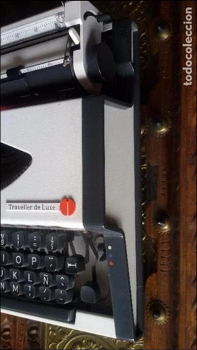 Antigüedades: maquina escribir olympia traveller de luxe - Foto 4 - 95393643