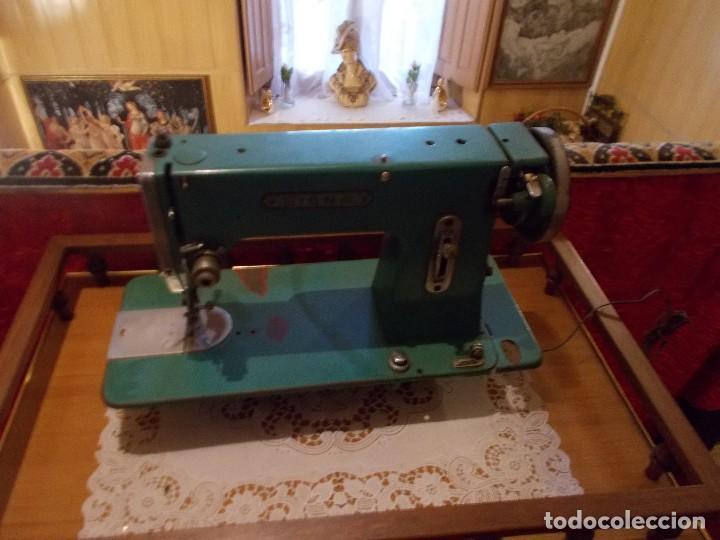 MAQUINA DE COSER MARCA SIGMA AÑOS50 (Antigüedades - Técnicas - Máquinas de Coser Antiguas - Sigma)