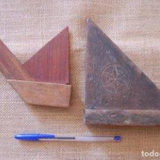 Antigüedades: ESCUADRAS DE CARPINTERO, CARPINTERÍA. . Lote 95463343