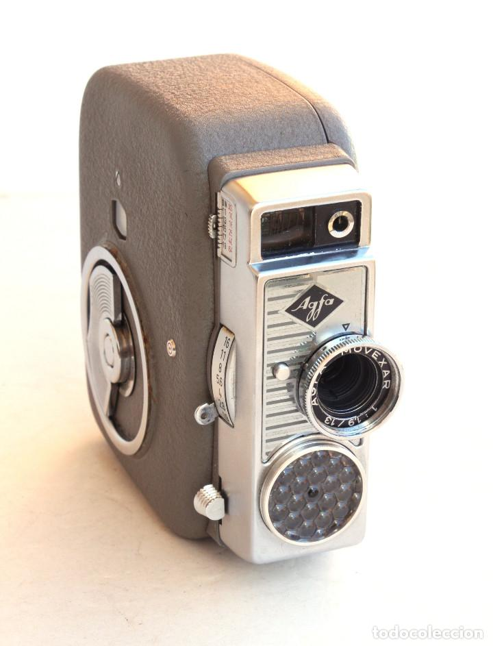 Antigüedades: *1956/1963* • Agfa MOVEX 88L Movexar f1.9 + CINE CANONET 8 Canon Zoom lens f1.8 - Foto 2 - 95496195
