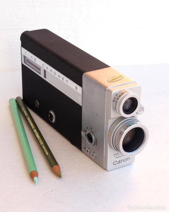 Antigüedades: *1956/1963* • Agfa MOVEX 88L Movexar f1.9 + CINE CANONET 8 Canon Zoom lens f1.8 - Foto 5 - 95496195