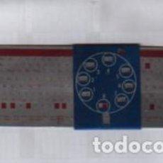 Antigüedades: CALCULADORA REGLA DE CALCULO PUBLICIDAD DE VALVILA MINIWATT - METALICA. Lote 95532963