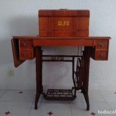Antigüedades: MAQUINA DE COSER ALFA MOD. 20. Lote 95544447