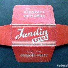 Antigüedades: HOJA DE AFEITAR ANTIGUA-JANDIN-EXTRA-ACERO ESCOGIDO-VINTAGE. Lote 95648691