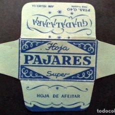 Antigüedades: HOJA DE AFEITAR ANTIGUA-PAJARES-SUPER-GUADALAJARA,DE J.VOLLMER-VINTAGE. Lote 95648855
