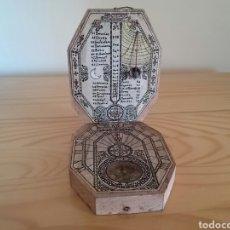 Antigüedades: RELOJ DE SOL CON BRÚJULA . Lote 95710054