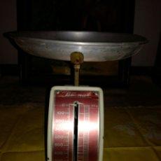 Antigüedades: BÁSCULA METALICA DE COCINA BERNAR. Lote 95720930