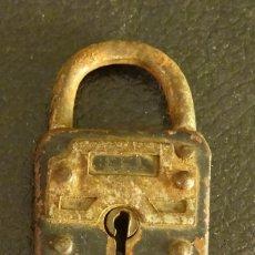 Antigüedades: CANDADO ANTIGUO SIN LLAVE. Lote 95727059