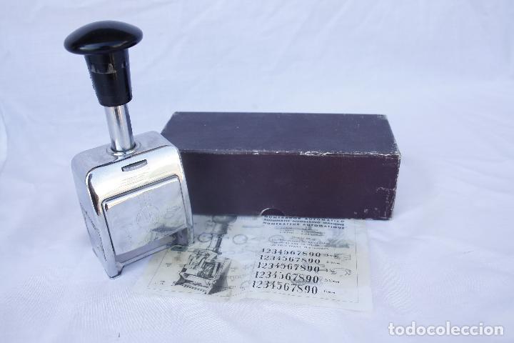 NUMERADOR MARCA ENM MODEL 4533 - AUTOMÁTICO. (Antigüedades - Técnicas - Aparatos de Cálculo - Calculadoras Antiguas)